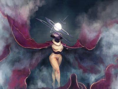Heaven painting fantasy illustration art