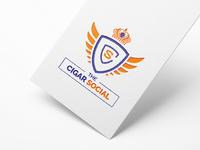"""Logo """"The cigar Social"""""""
