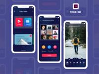 Photo Movie Creator app UI