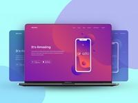 Arcadio App Landing Page Hero Area