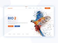 Angry bird RIO 2 - Hero Header
