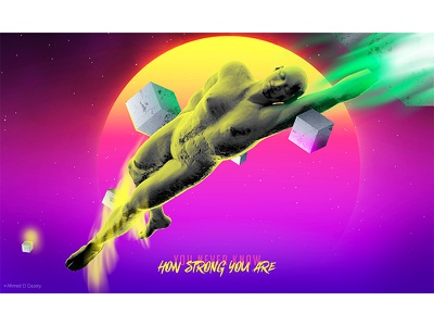 Super power adobe fly art girl behance 3d surreal photomanipulation digital photoshop