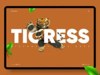 Kung Fu Panda — Tigress