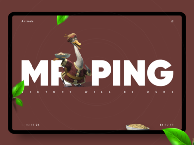 Kung Fu Panda — Mr. Ping