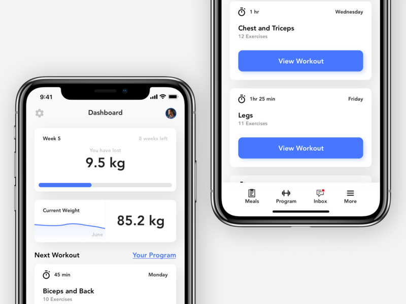 Workout Companion - Exploration gym app gym fitness branding vector ui design design concept denmark copenhagen ux ui companion app tracker workout coach coach companion workout tracker workout app workout