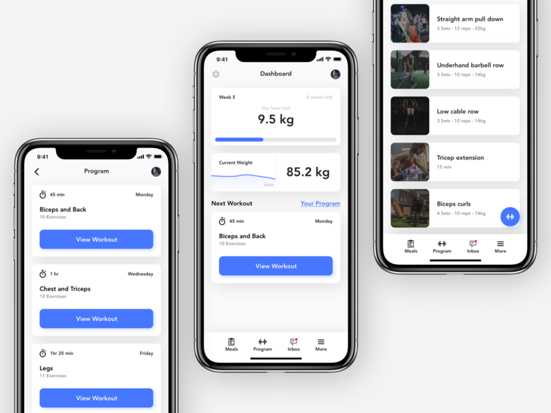 Workout Companion - Exploration workout workout app workout tracket companion coach workout coach tracker companion app ui ux copenhagen denmark concept design ui design vector branding fitness gym gym app