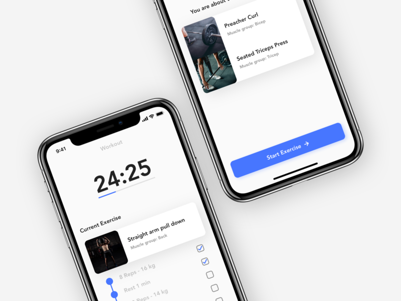 Workout Companion - Exploration workout workout tracker workout app companion coach workout coach tracker companion app ui ux copenhagen denmark concept design ui design vector branding fitness gym gym app