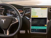 Tesla Interface Concept
