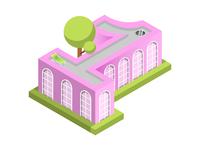 One Isometric House