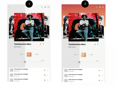 Spotify App Redesign - UI Design for music streaming app