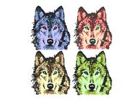 8 bit Wolves