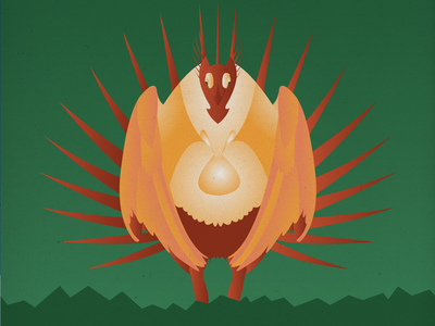 Endangered 21 Greater Sage-Grouse 100dayproject the100dayproject 100endangeredspecies endangeredspecies illustration