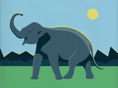 Endangered 24 Sri Lankan Elephant 100dayproject the100dayproject 100endangeredspecies endangeredspecies illustration