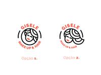 Logo Gisele Make Up & Hair