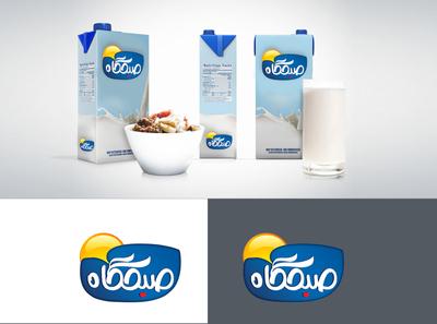 Logo design milk