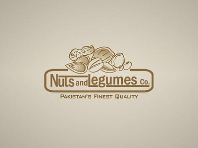 Nuts & Legumes Logo Design app web icon vector design art abstract 2d branding logo