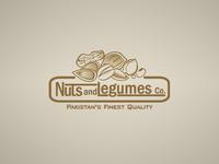 Nuts & Legumes Logo Design
