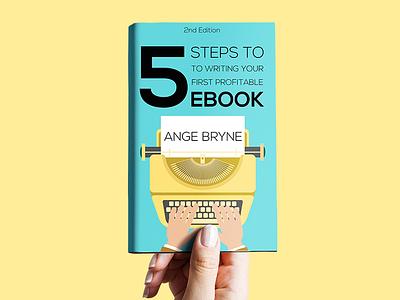 Book Cover Design vector illustraion mockup book typography typeface design typewriter 2d design graphic ebooks ebook