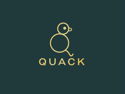 Quack Logo Design