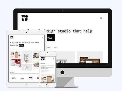 WolfStudioz Web Design website concept brand identity websites webdesign branding website wordpress design uiux web studioz wolf