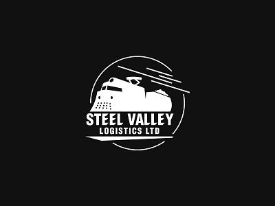 Steel Valley Logistics Co. Logo Design typeface icon webdesign graphicdesign logos steel city branding design logo logistics valley