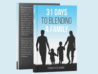 31 Days To Blend A Family book cover design for Concehta Gladmon