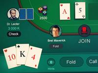 Poker web app