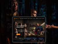 Questroom - promo website for amazing escape rooms