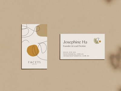 Facet Ethical Dentistry design packaging sustainable ethical logo illustration branding