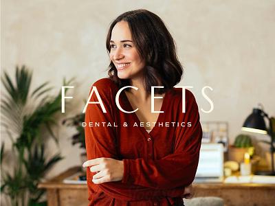 Facets Ethical Dentistry ethical sustainable illustration female branding logo