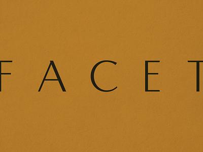 Facets Ethical Dentistry dentist skincare website packaging sustainable ethical logo illustration branding
