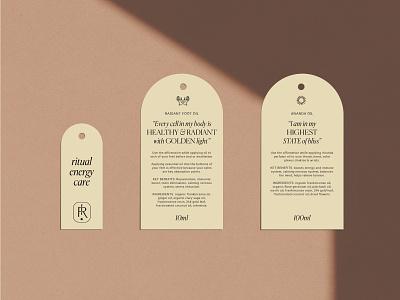 Indie Rose   Ritual Energy Care empowerment skincare yoga vegan packaging sustainable ethical logo illustration branding