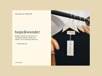 Sustainable Yoga Wear | Hope & Wonder