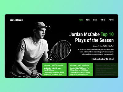 Tennis-Sport green website tennis sports
