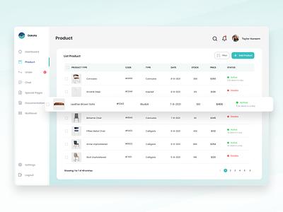Customer Relationship Management (CRM) - Product webdesign admin design clean branding agensip colorful friday management uix stunning dashboard crm ux ui
