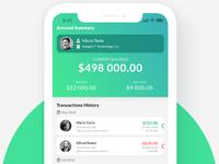 UI/UX Design - Salary Payment Application