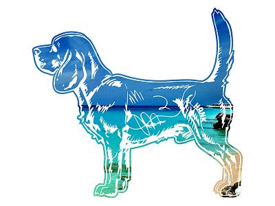 Hank aka Beagle Juice - 4 hank dog photography beagle tshirt key west