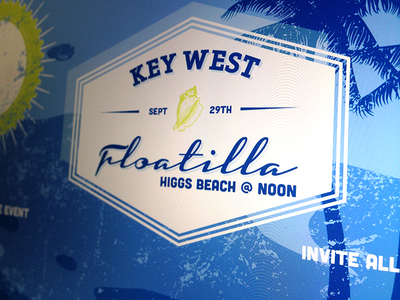 Key West Floatilla invite