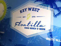 Key West Floatilla invite