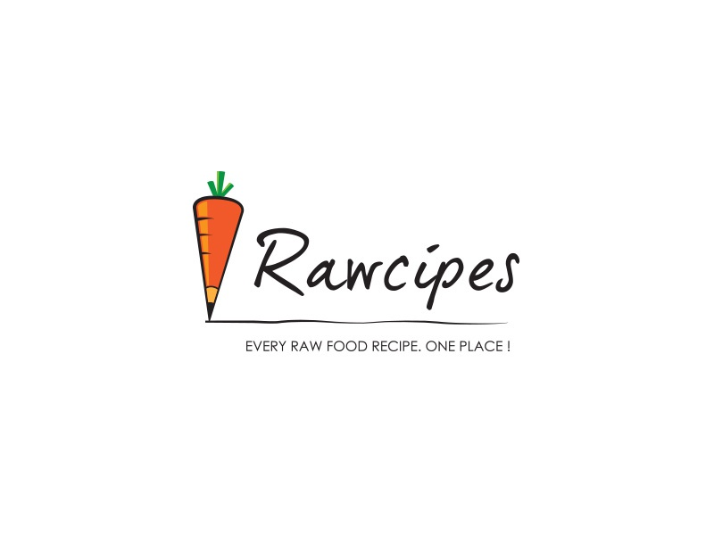 Rawcipes logo by branko lojanicic dribbble logo done for raw food recipe website it provides raw food enthusiasts a place where they can find 1000s of different recipes forumfinder Choice Image