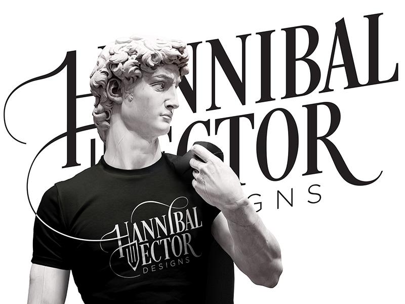 Dr_Hannibal_Vector-Personal Branding pencil typography design branding logo