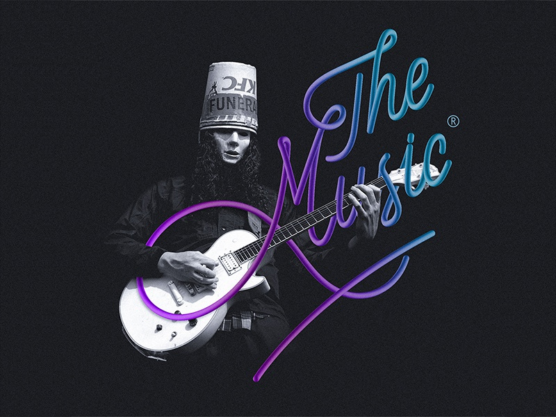 Buckethead graphicdesign music buckethead handlettering lettering calligraphy typography