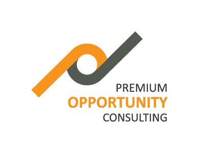 Premium Opportunity Consulting Logo graphic design modern modern logo logo design branding logo