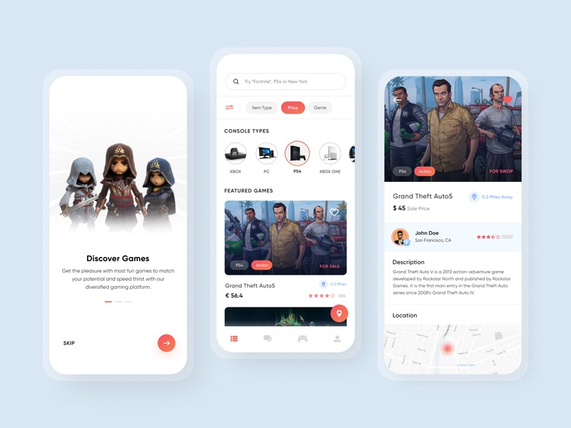 Gaming Mobile App illustrations userprofile map onboarding ui minimalistic minimal cards ui ui designer ios app ux daily ui challenge user interface design user interface ui design product design uiux ui gaming gaming app