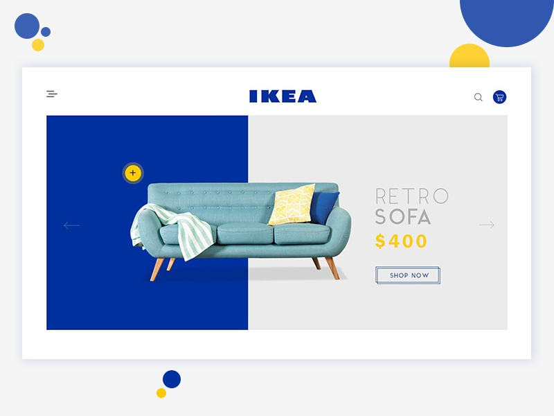 Ikea Redesign Concept landing page design landing page design inspiration website design inspiration website design web design user interface latest design ux ui landing page ikea redesign ikea