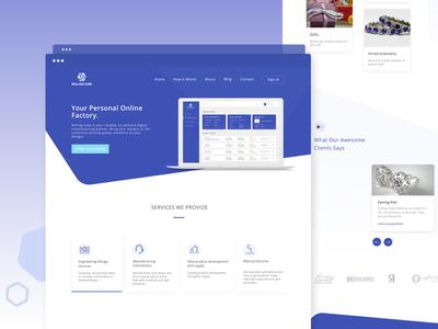Rolling Cube Website Redesign user interface uiux ui design responsive redesign landing page landing dashboard app website ux ui