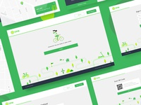 Limebike Web App Concept