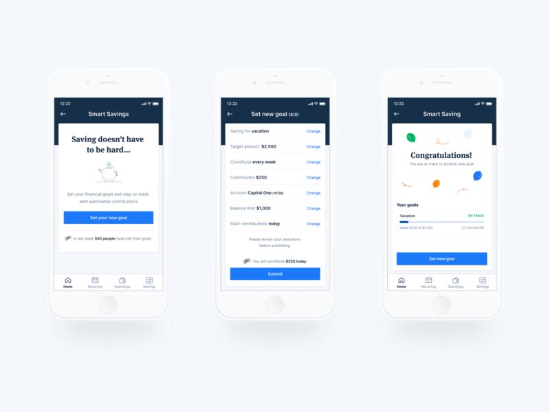 Financial app II design banking finance fintech app mobile ui ux user experience user interface
