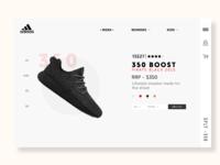 Adidas   Rebound   UX/UI Practice