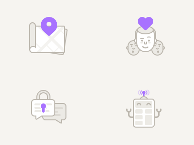 Home Icons lock icon message calculator math algorithm filter match location map icons illustration